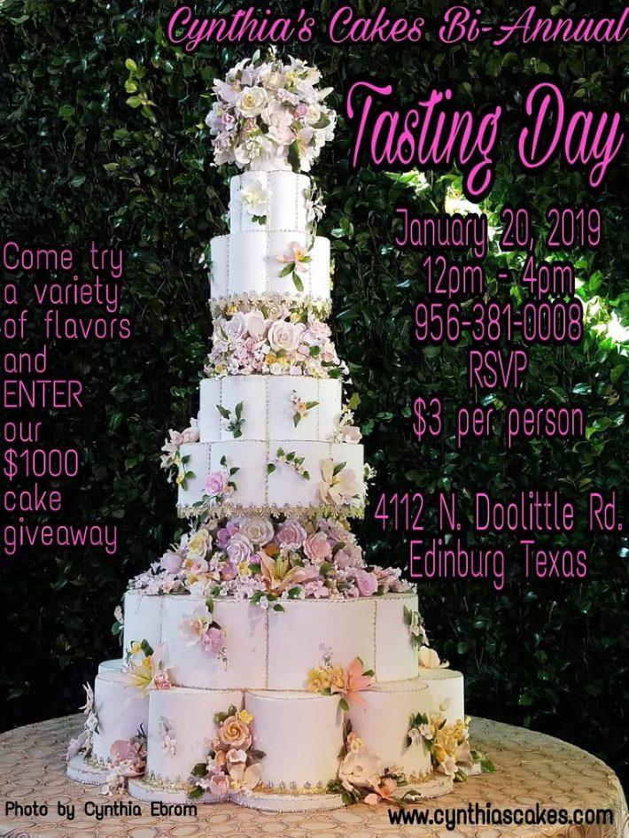 Cynthias Cakes, LLC » Beautiful Wedding Cakes in the RGV